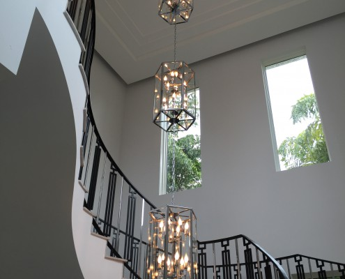 Designer Lighting Staircase