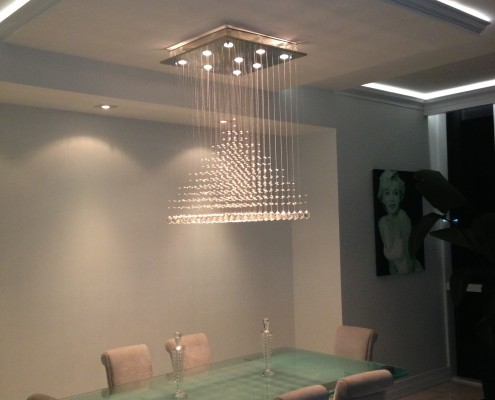 Designer Lighting Dining Room