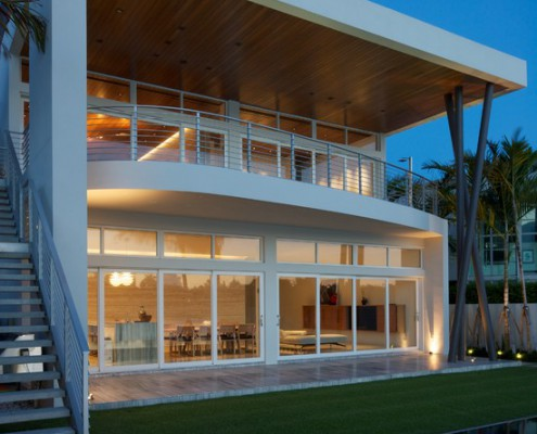 Design Lighting Exterior Contemporary Home
