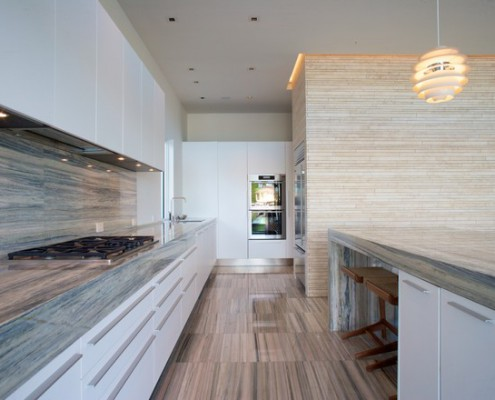Design Lighting Contemporary Gourmet Kitchen
