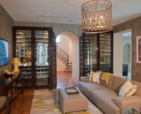 Design Lighting Wine Cellar