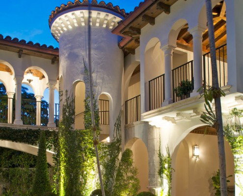 Design Lighting Exterior Mediterranean