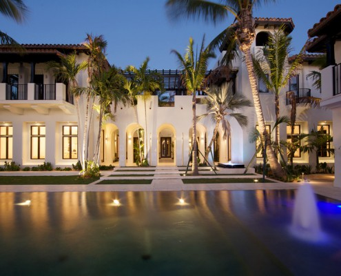 Design Lighting Pool Exterior