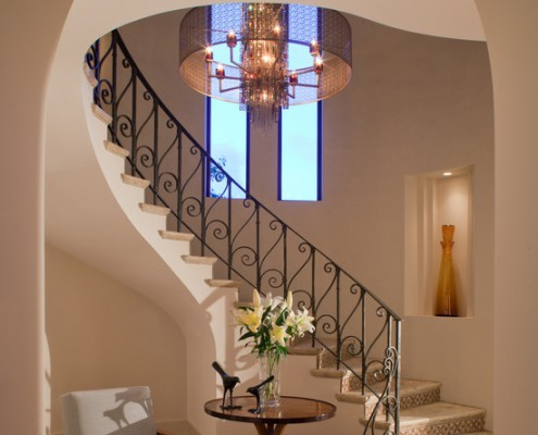 Design Lighting Mediterranean Staircase