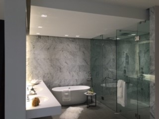Residential Bathroom Design Lighting